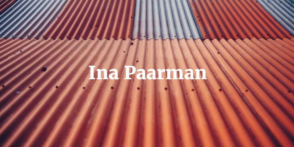 Ina Paarman