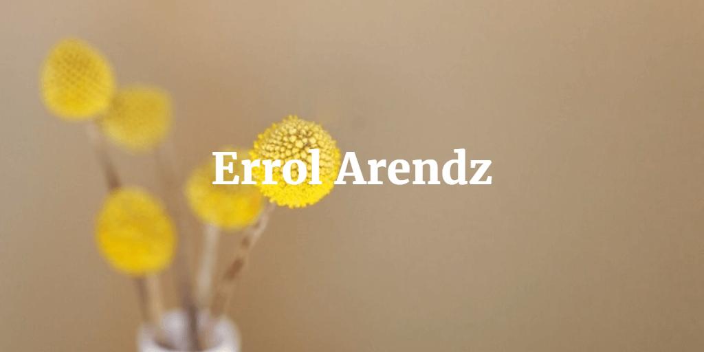 Errol Arendz